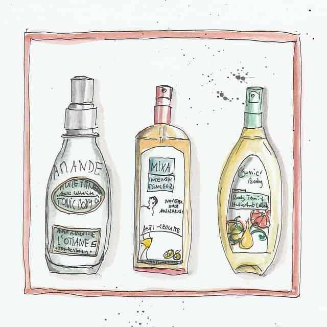 une illustrations de trois shampoings